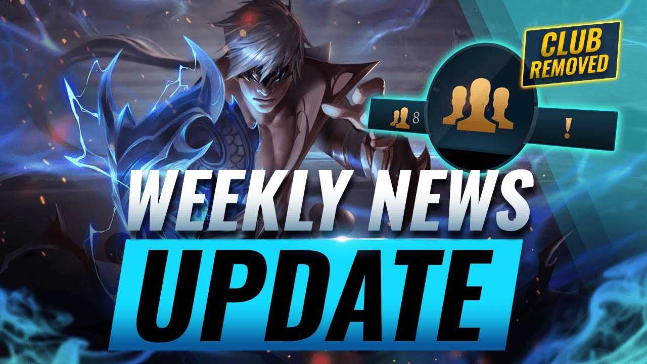 NEW UPDATES: Clubs REMOVED + Item REWORKS + New Skins & MORE - League of Legends thumbnail