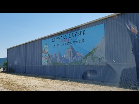 Los Angeles Driving Tour: Crystal Geyser Spring Water Plant