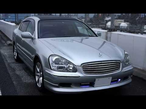 NISSAN CIMA HF50 Drive Rain Tokyo Morning