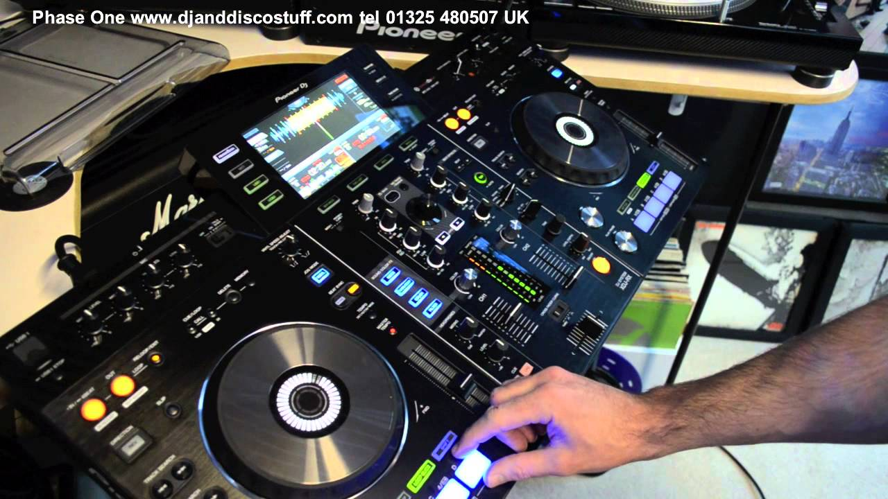 pioneer xdj rx review phase one dj store youtube. Black Bedroom Furniture Sets. Home Design Ideas