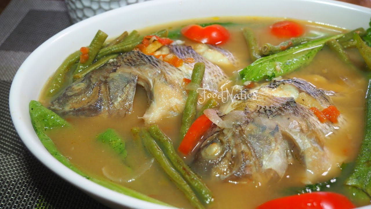 Perfectly Done At Walang Lansa Sinigang Na Tilapia Sa Miso Foodnatics Youtube