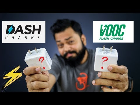 OnePlus Dash Charger Vs OPPO VOOC Charger ⚡⚡⚡ कौन है ज्यादा FAST?