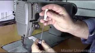 Швейная машина 1022 класса. Результат ремонта и профилактики.Часть 8. Видео №45.