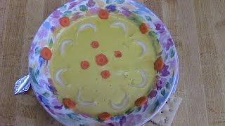 Delicious Homemade  Cream Of Chick Pea Soup In A Vita Mix 3600