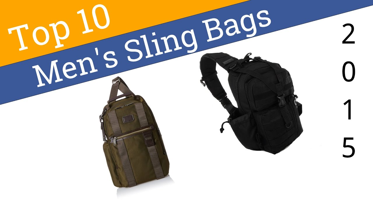 10 Best Men's Sling Bags 2015 - YouTube