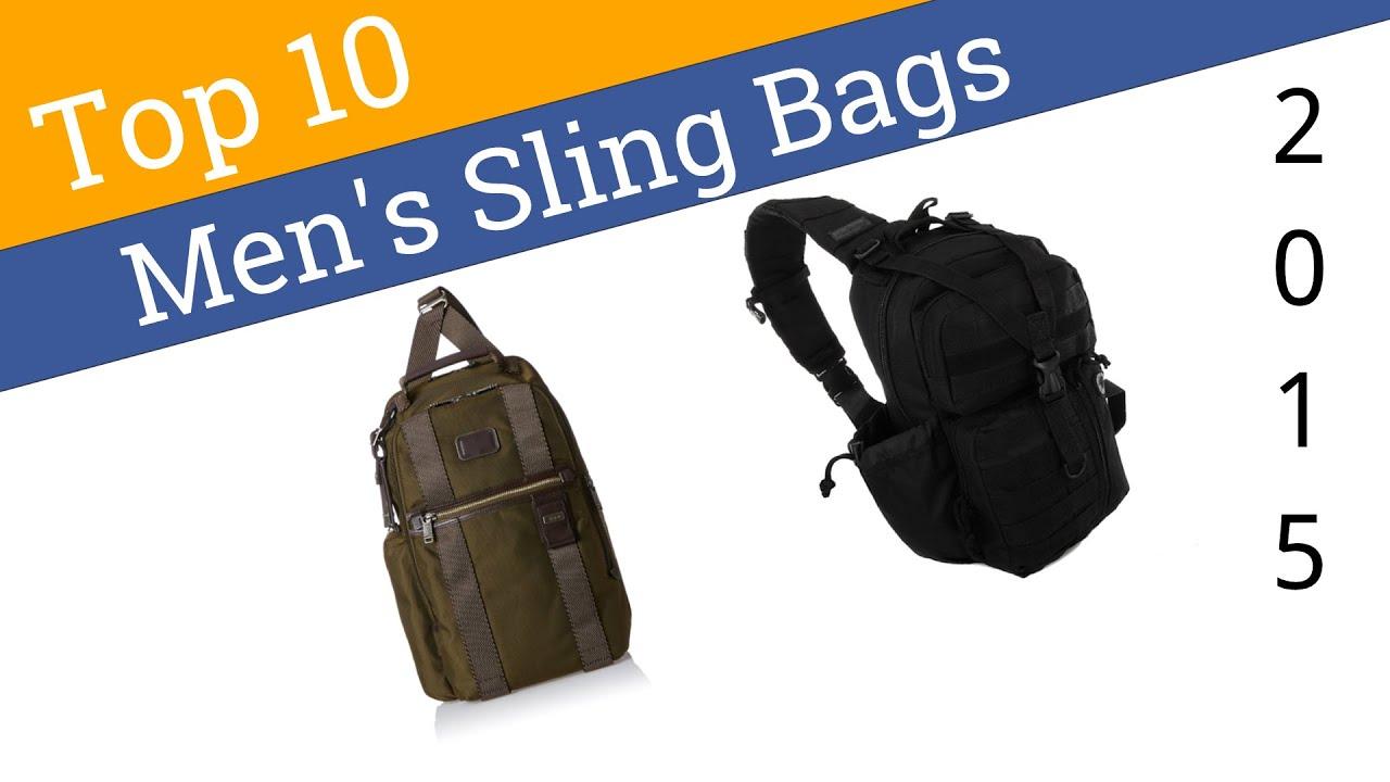 10 Best Men's Sling Bags 2015 - YouTube