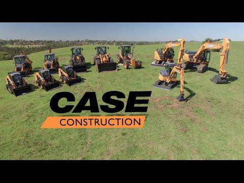 CASE Australia - Excavation Equipment Range 2016