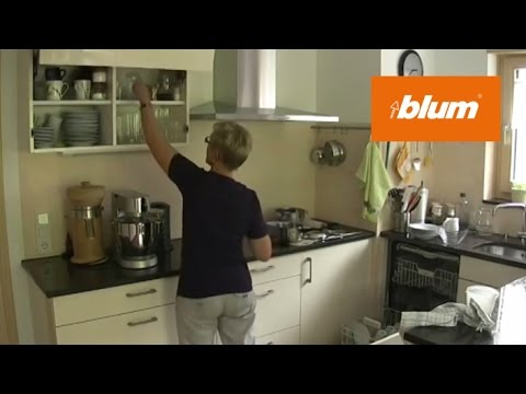 SERVO-DRIVE for AVENTOS in the daily kitchen work