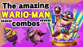 The amazing Wario-Man - SSB4 Wii U