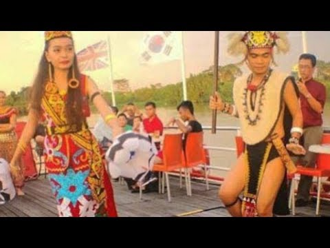Trip to Sarawak Malaysia, river cruise @ waterfromt, tradional dance. Local Foods & Shopping. Peace
