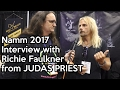 Capture de la vidéo Namm 2017   Interview With Richie Faulkner From Judas Priest