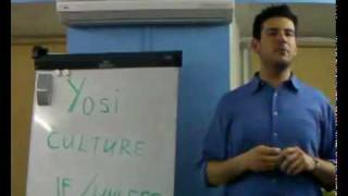 English lesson 1 - Cultural differences with Yosi