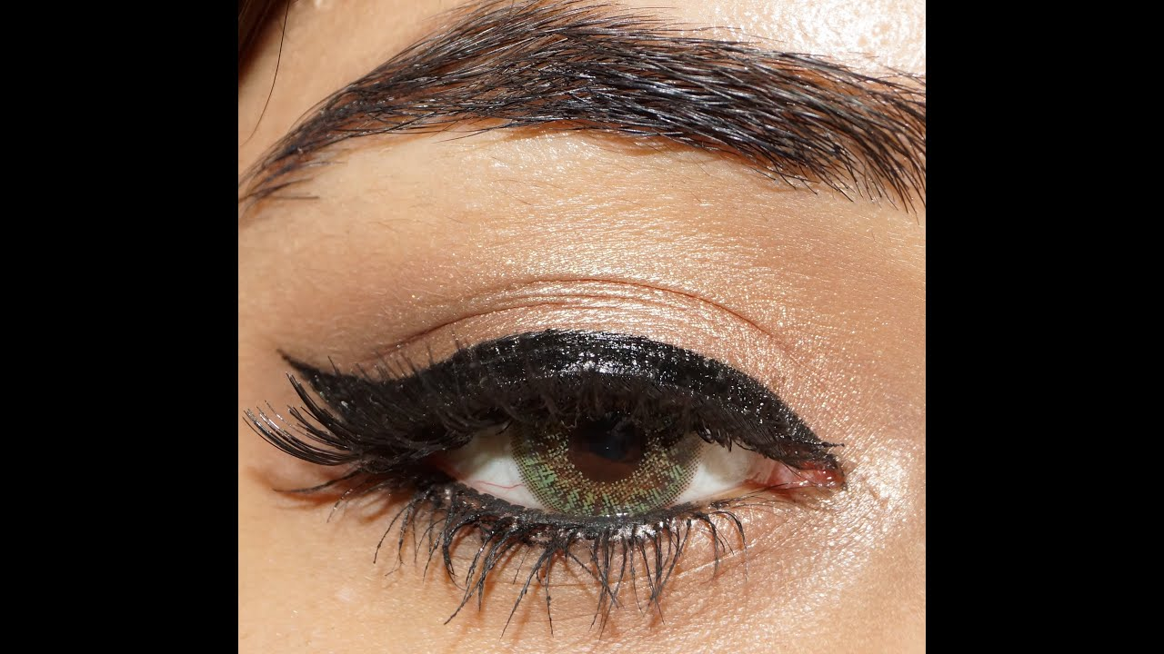 Adele inspired glamorous winged liner eye makeup tutorial adele inspired glamorous winged liner eye makeup tutorial corallista youtube baditri Image collections