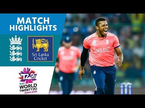 ICC #WT20 - England v Sri Lanka  Match Highlights