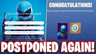 Download Why The Honor Guard Skin Was Disabled In Fortnite MP3, MKV