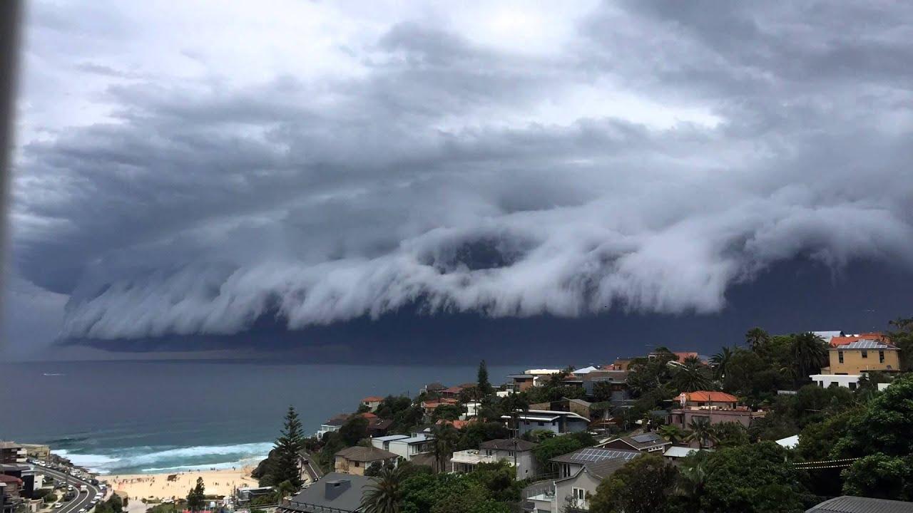 Sydney Storm Bondi Timelapse Youtube