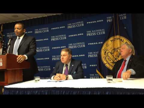 Transportation Secretary Anthony Foxx at National Press Club 9/9/2015