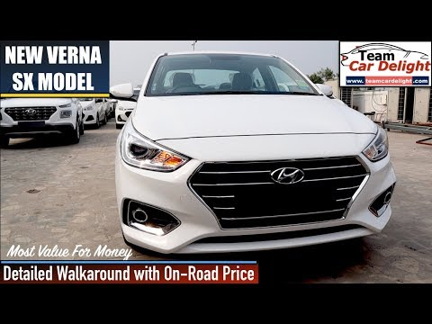 New Verna Sx Model Detailed Walkaround Review With On Road Price | Verna Sx