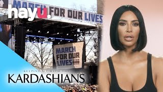 Kim Supports March For Our Lives | Season 15 | Keeping Up With The Kardashians
