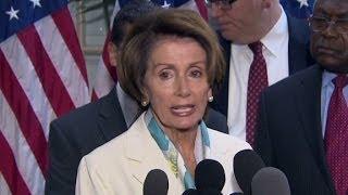 "Nancy Pelosi slams House GOP for ""sabotage"""