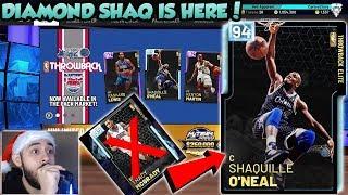 NBA 2K19 DIAMOND SHAQ BUT NO DIAMOND TRACY MCGRADY PACK OPENING IN MYTEAM