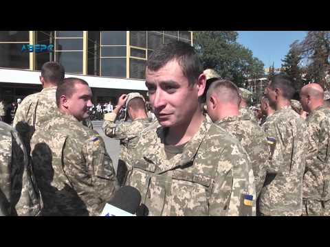 ТРК Аверс: Додому: у Луцьку урочисто зустріли Севастопольську бригаду авіаторів