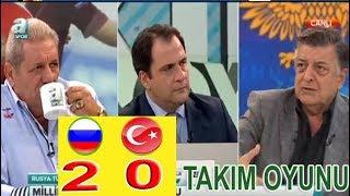 Takım Oyunu, Erman Toroğlu -  RUSYA 2-0 TÜRKİYE maç  yorumları 14 Ekim 2018 kısım 2
