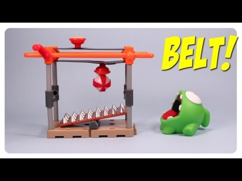 Cut the Rope Om Nom's Playground Quick Set: Conveyor Belt Review