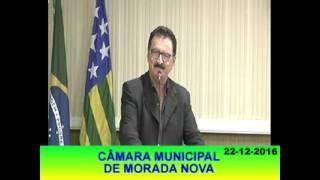 Roberto Meneses Pronunciamento 22 12 16