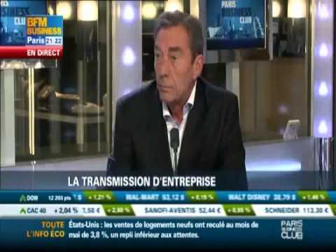 "BFM BUSINESS - Emission ""Paris Business Club"" du 21 juin 2011 - Transmission d'entreprise"