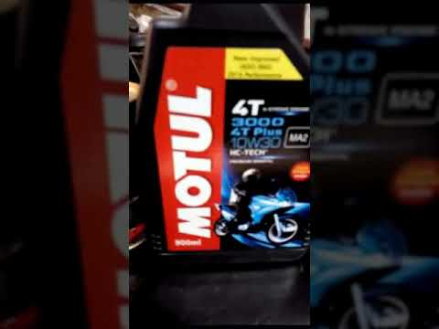 Honda shine engine flush|Proper engine oil change . Motul 10w30