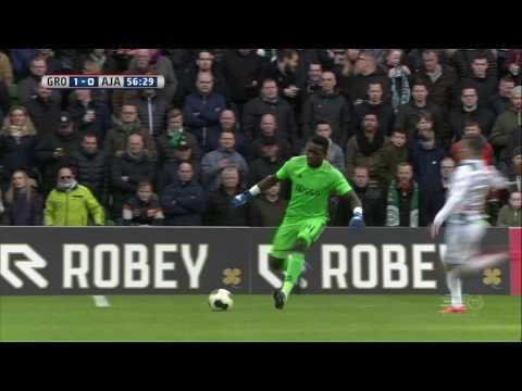 André Onana howler costs Ajax against Groningen