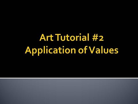 Art Tutorial #2 - Application of Values to Create 3D Shapes thumbnail
