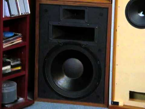 Klipsch Heresy II 1970s Speakers  YouTube