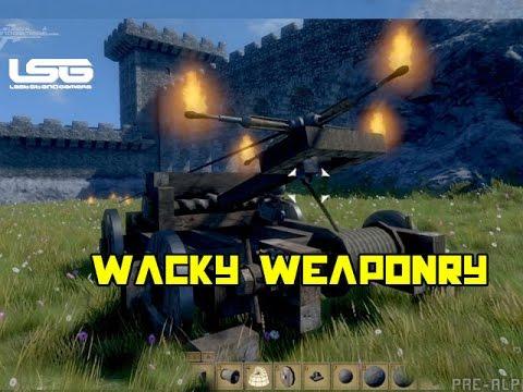 Medieval Engineers - Wacky Weaponry Experimentation