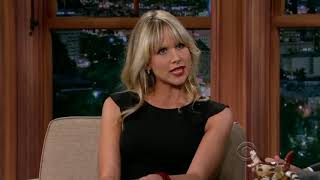 Lucy Punch Tiny Little Outfit on Craig Ferguson