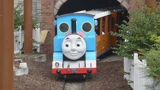 Thomas The Tank Engine & Rosie @ Drayton Manor 25-07-15