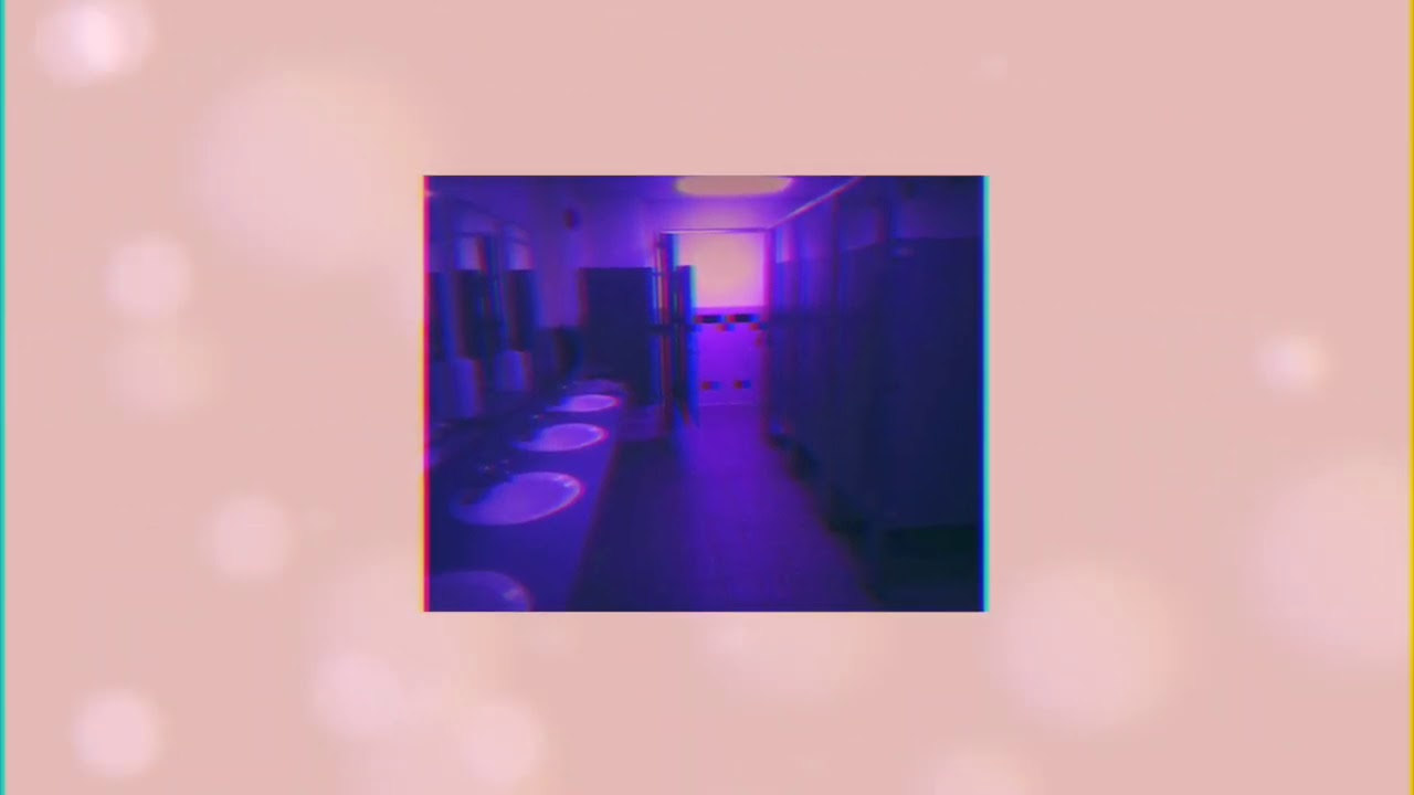 ariana grande- off the table, but you're in a bathroom during a party + everything is in slow motion
