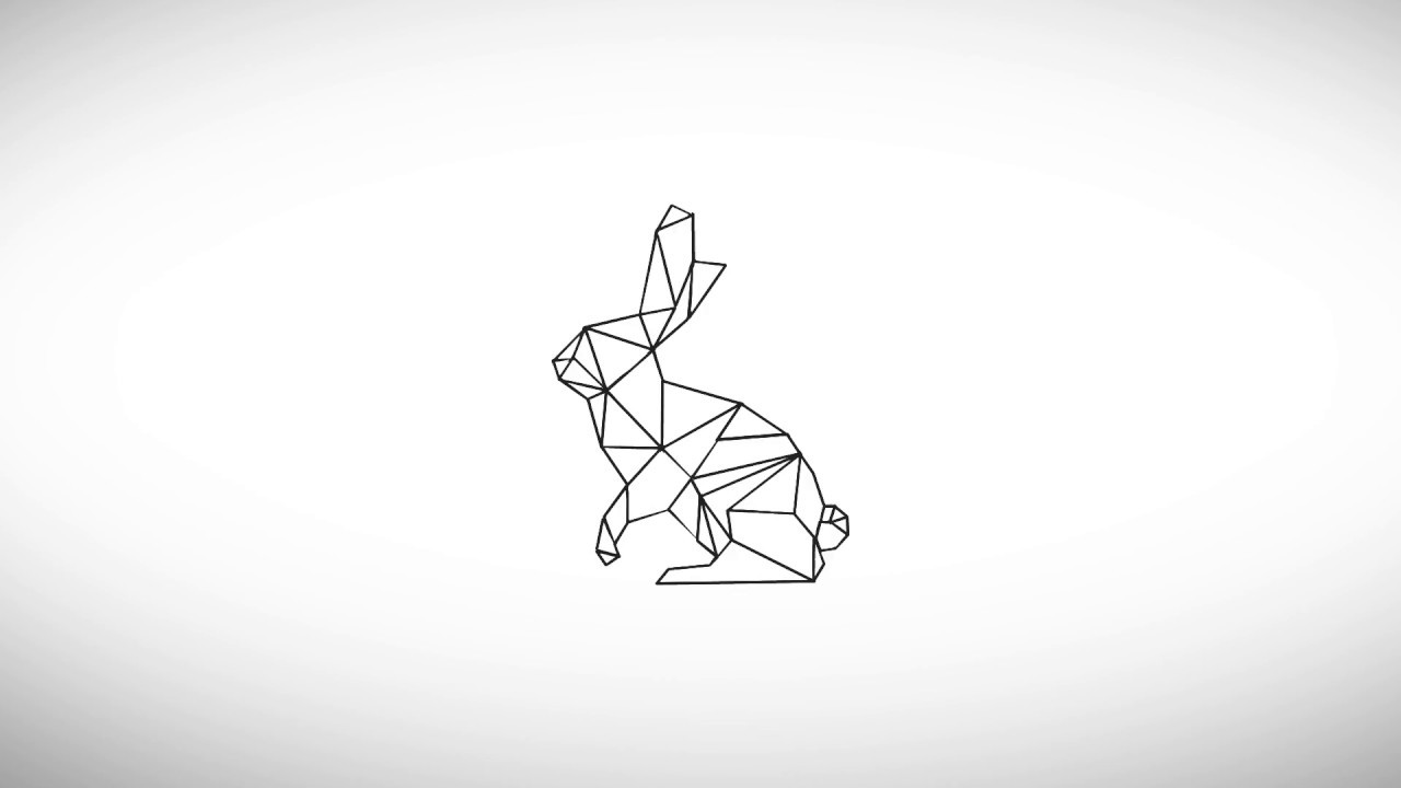 Bunny Tattoo Like Animation Free Motion Graphics