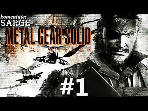 Zagrajmy w Metal Gear Solid: Peace Walker HD [60 fps] odc. 1 - Kontynuacja historii Big Bossa
