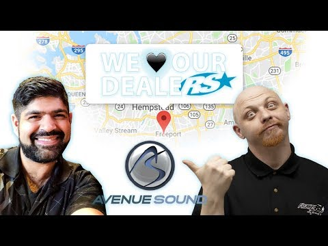 We ♥ Our Dealers with Avenue Sound by Race Sport Lighting