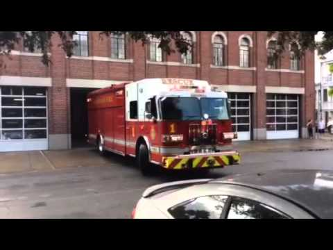 2015 Freightliner Cascadia >> Firetrucks Savannah Ga. - YouTube