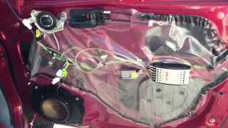 Installing Polk Audio DB6501 Component Speakers in a 2005 Toyota Tacoma
