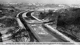 De aanleg van de kleine ring rond Antwerpen