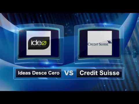 Credit Suisse apea a Ideas desde Cero en la noche de los porteros