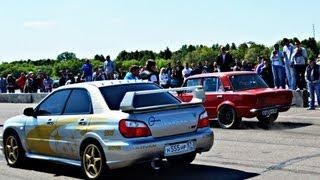 ВАЗ 2101 Турбо vs Subaru Impreza WRX STi