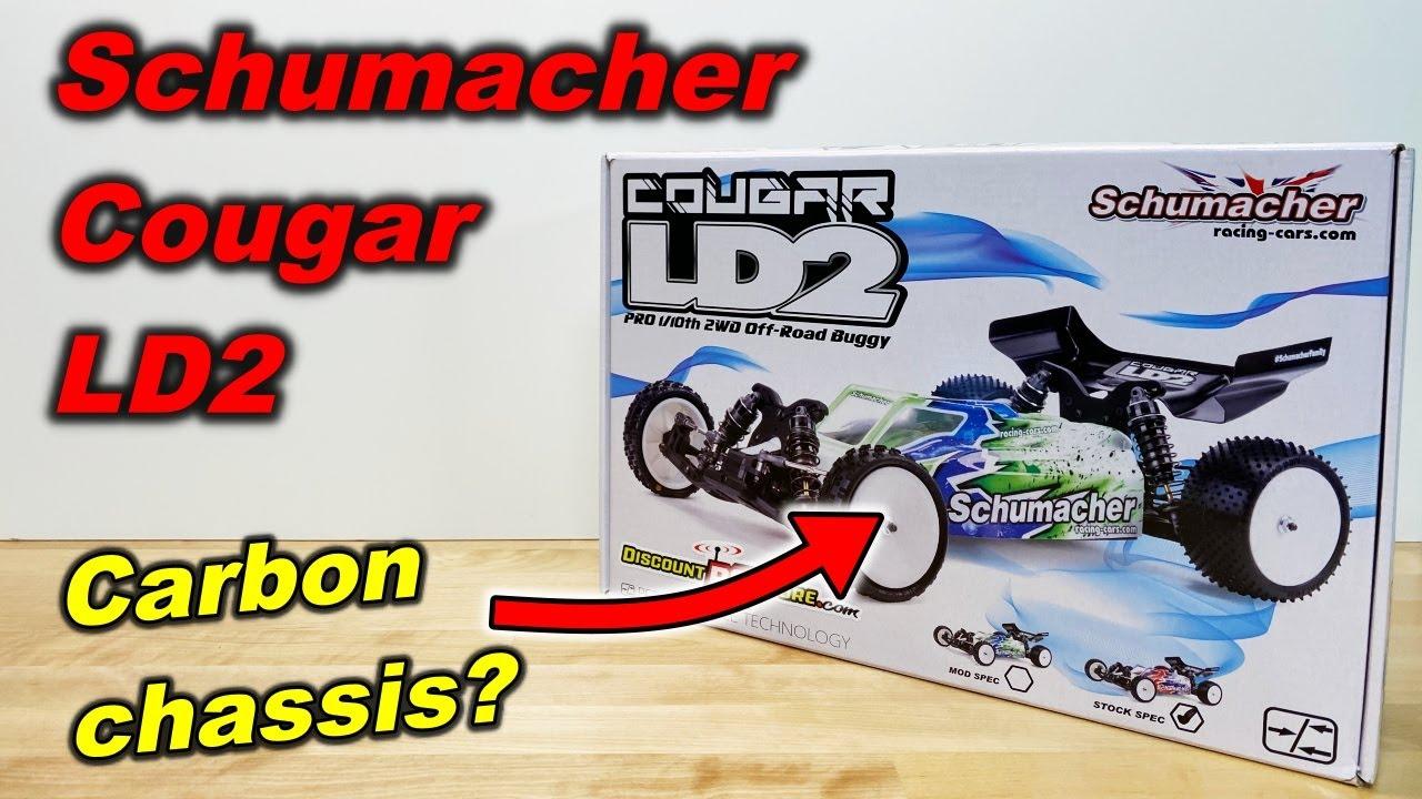 Schumacher Cougar LD2 unboxing