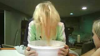 Dunking Our Head In A Bucket Of Ice Water