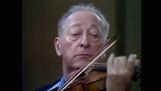 Heifetz - Bach Chaconne - Violin Solo