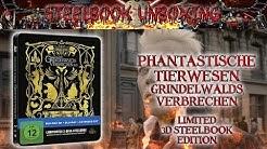 Unboxing - Phantastische Tierwesen 2 - Grindelwalds Verbrechen - 3D Steelbook